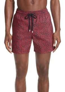 Vilebrequin Mini Fishes Print Swim Trunks