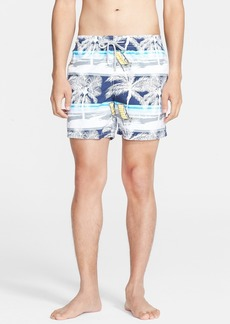 Vilebrequin 'Moorea' Beach Print Swim Trunks