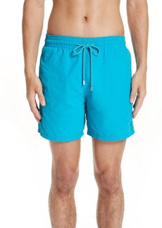 Vilebrequin Moorea Double Focus Water-Reactive Swim Trunks