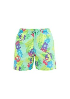 Vilebrequin Moorea floral and gecko-print shell swim shorts