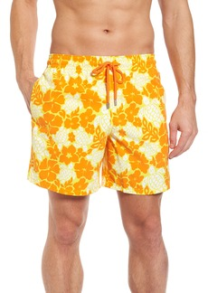 Vilebrequin Moorea Hawaiian Turtles Swim Shorts