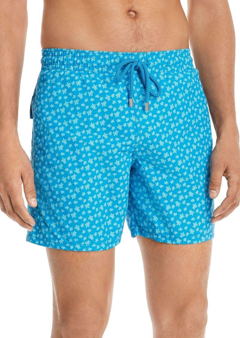 Vilebrequin Moorea Micro Ronde Des Turtles Swim Shorts