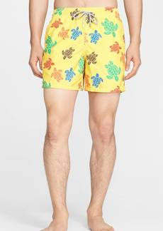 Vilebrequin 'Moorea' Turtle Print Swim Trunks