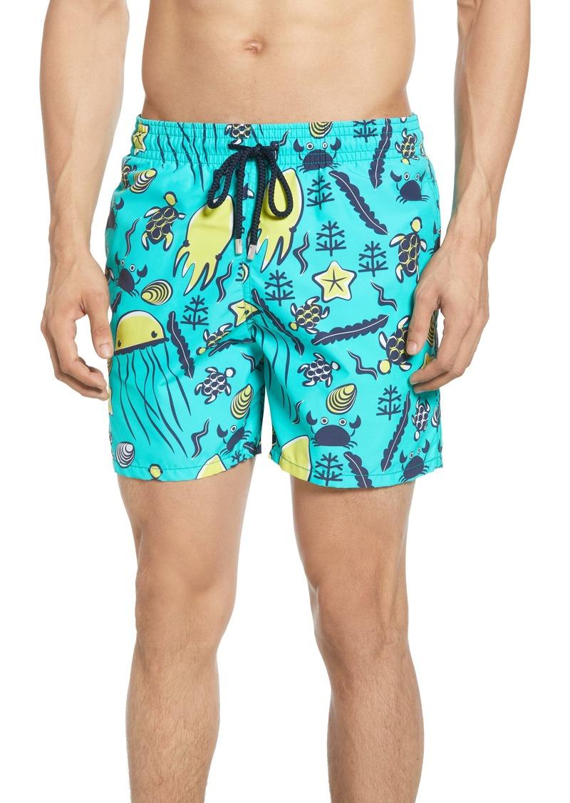 Vilebrequin Moorea Turtles Beach Swim Trunks