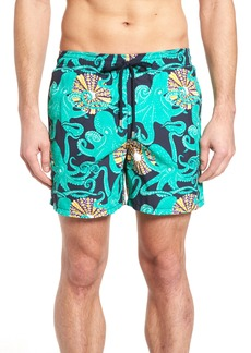 Vilebrequin Octopus & Coral Swim Trunks