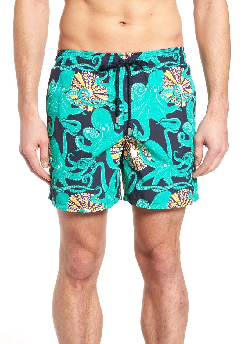 1856ddcc3e Vilebrequin Vilebrequin Octopus & Coral Swim Trunks   Swimwear