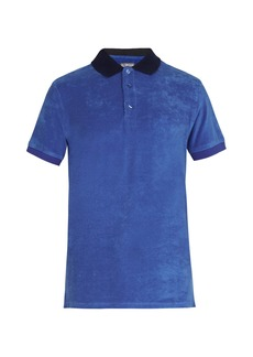 Vilebrequin Pacific cotton-blend terry polo shirt
