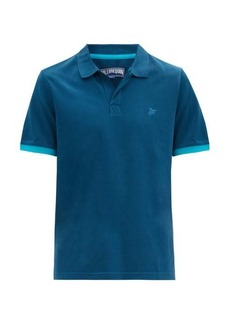 Vilebrequin Palan logo-embroidered cotton polo shirt