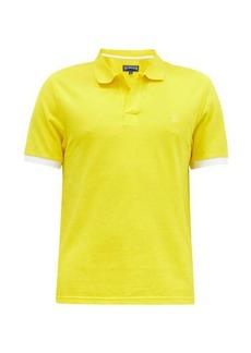 Vilebrequin Palan tipped-cuff cotton-piqué polo shirt