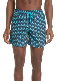 Vilebrequin Possion Shamac Print Swim Trunks