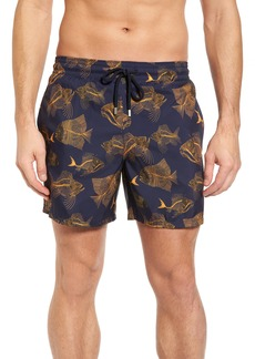 Vilebrequin Prehistoric Fish Swim Trunks
