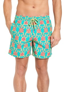 Vilebrequin Primitive Turtles Swim Trunks