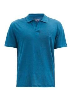 Vilebrequin Pyramid linen-jersey polo shirt