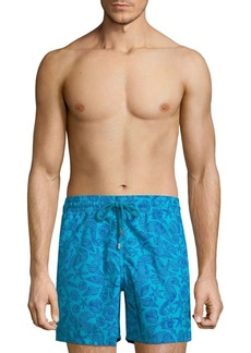 Vilebrequin Seahorse Shell-Print Boardshorts
