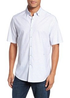 Vilebrequin Slim Fit Stripe Sport Shirt