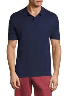 Vilebrequin Solid Cotton Polo