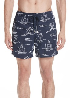 Vilebrequin St. Tropez Embroidered Swim Trunks