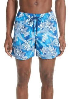 Vilebrequin Starfish & Turtles Swim Trunks