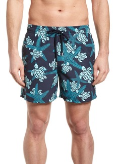 Vilebrequin Starlette Turtle Print Swim Trunks