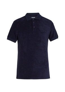 Vilebrequin Terry-cloth cotton-blend polo shirt