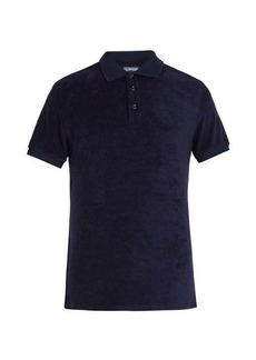 Vilebrequin Terry-cloth cotton-blend polo shirt