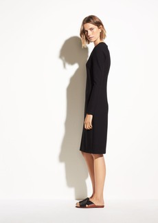Vince 3/4 Sleeve Pencil Dress