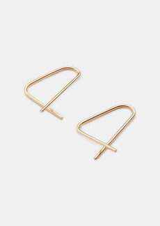 Vince 8.6.4 / Small Triangle Hoop Earrings