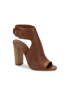 Vince Addie Leather Open Toe Sandals