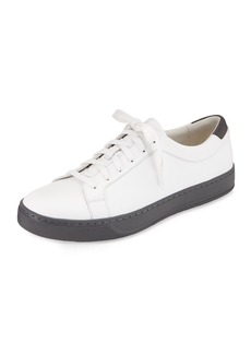 Vince Aster Leather Low-Top Sneaker