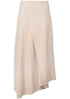 Vince asymmetric draped skirt