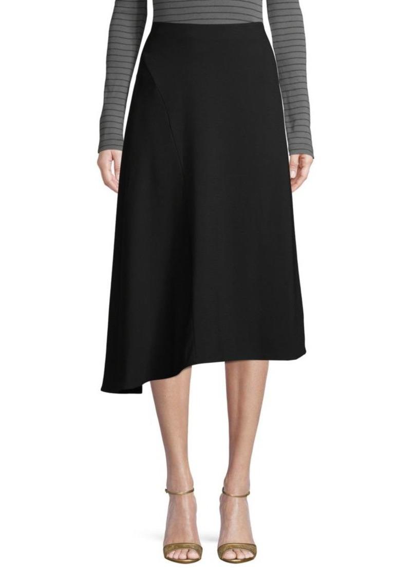 Vince Asymmetrical A-Line Skirt