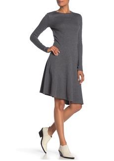 Vince Asymmetrical Midi Dress