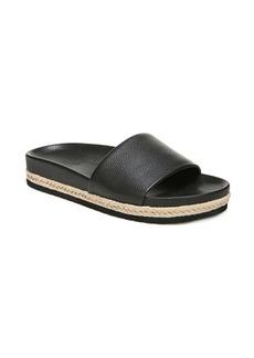 Vince Aurelia Leather Slides