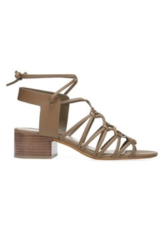 Vince Beaumont Laced Leather Sandals