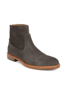 Vince Beckett Suede Cap Toe Ankle Boots