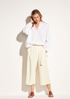 Vince Belted Cross-Over Culotte