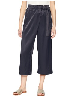 Vince Belted Cross-Over Culottes