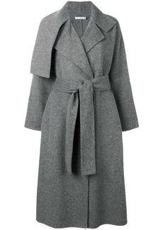 Vince belted lapeled coat