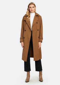 Vince Belted Tech Trench Coat - XXS - Also in: XS, S, XL, L, M