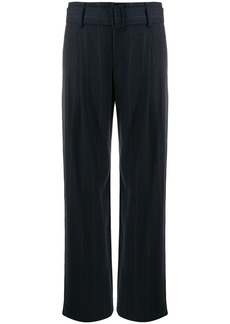 Vince belted wide-leg trousers