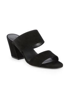 Vince Benetta Block Heel Suede Sandals