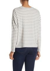 Vince Bengal Stripe Long Sleeve T-Shirt