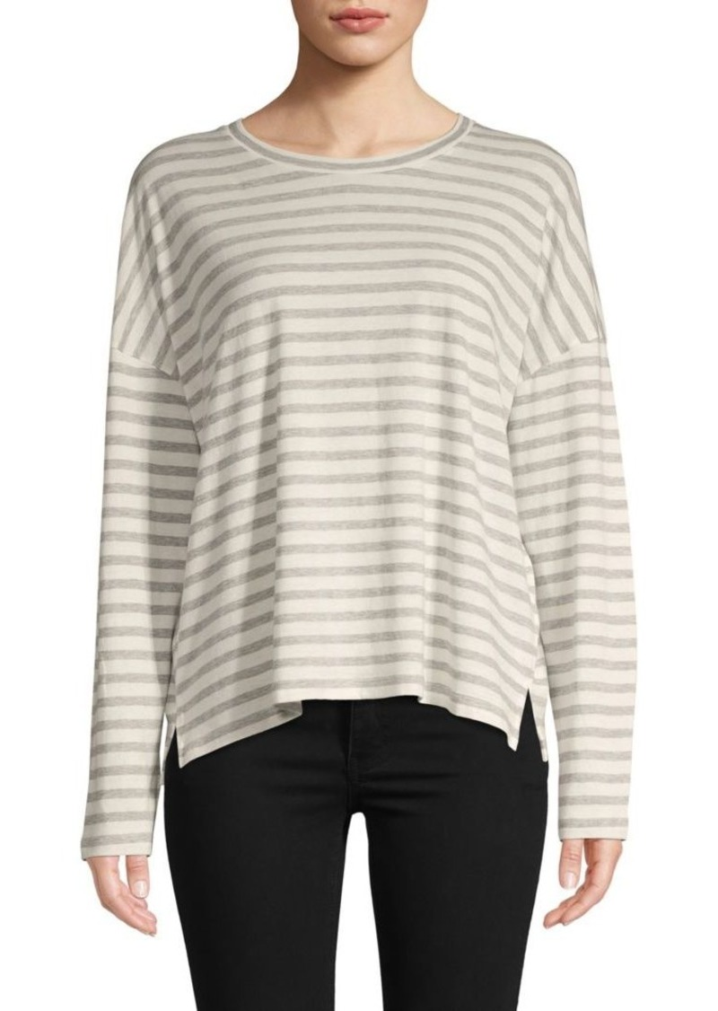 Vince Bengal Striped Long-Sleeve T-Shirt