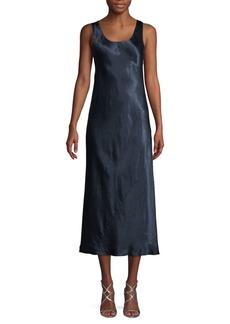Vince Bias Midi Flare Dress