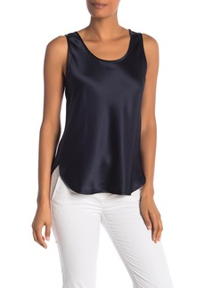 Vince Bias Silk Tank Top