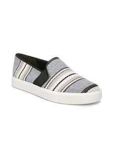 Vince Blair Striped Leather Sneakers