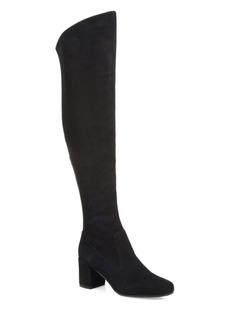 Vince Blythe Tall Suede Block Heel Boots
