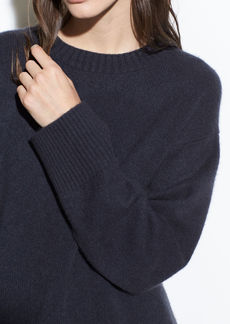 Vince Boxy Boiled Cashmere Crew