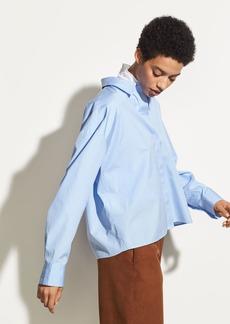 Vince Boxy Cotton Shirt