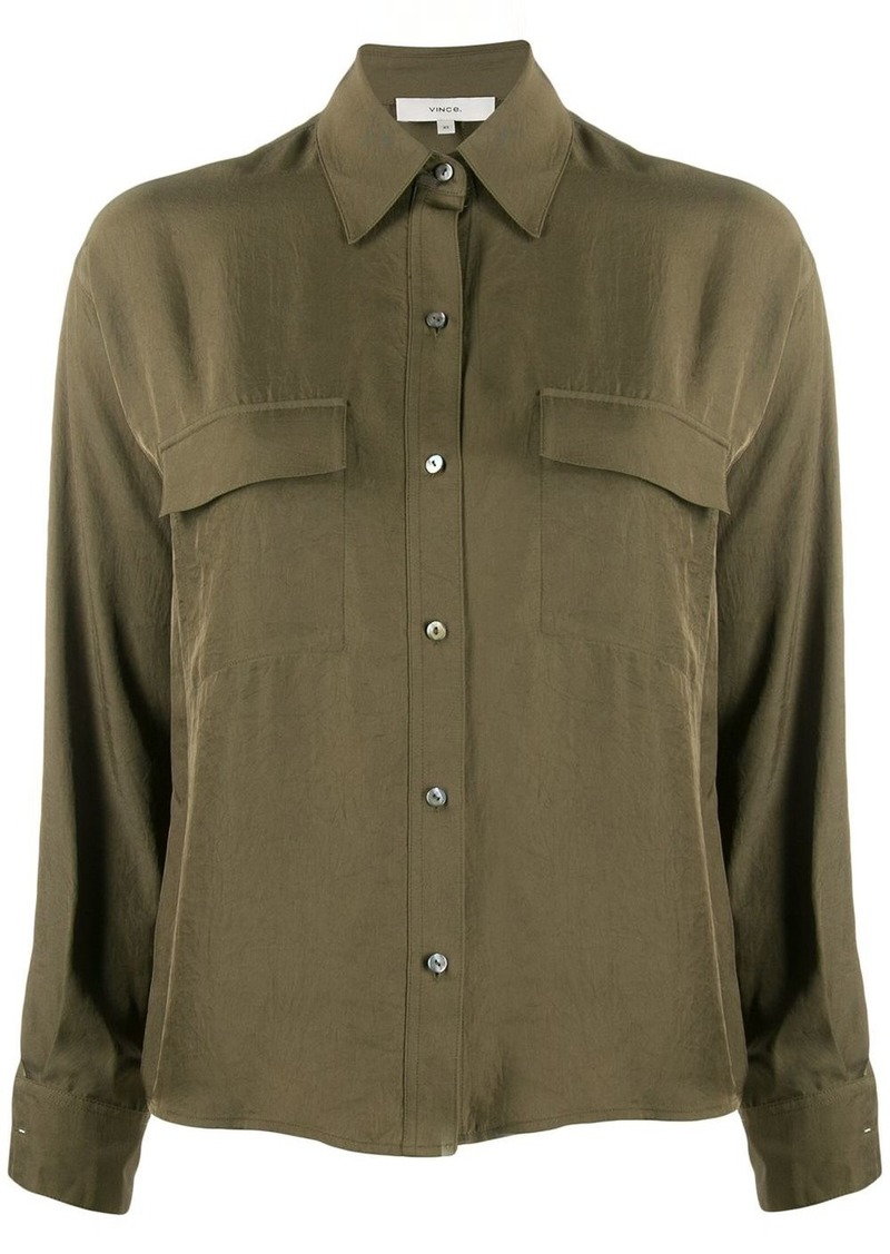 Vince boxy fit blouse